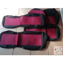 Méretpontos SUZUKI VITARA üléshuzat garnitúra (első, hátsó), új , Légzsák kompatibilis - Bordó, Piros