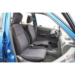 Suzuki  swift sedan méretpontos üléshuzat Első fejtámla kivehető, hátul 1/2 arányban osztott,beépített fejtámlával