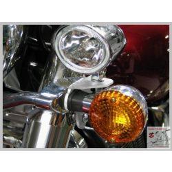 Highway Hawk 684-118 kiegészítő lámpa tartókonzol Kawasaki VN 900 Vulcan Classic Custom