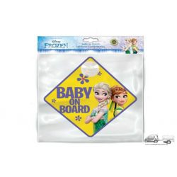 Frozen - Baby on Board - tapadókorongos tábla