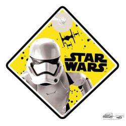 Baby on the board -Star wars - Baba a kocsiban tábla