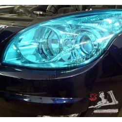 Autó lámpa-fólia kék -30*100cm