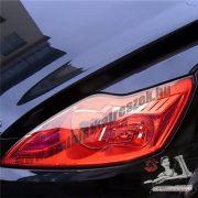 Autó lámpa-fólia piros 30*100cm