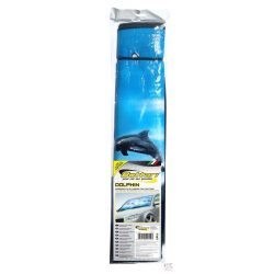 Nyári szélvédő takaró, hővédő, Delfin, 140*70cm