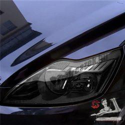 Autó lámpa-fólia füstös fekete - 30*100cm