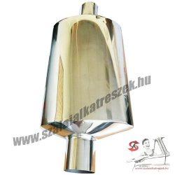Sport Kipufogódob / Középdob rozsdamentes acélból 60-as cső
