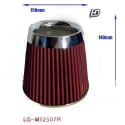 Direkt szűrő / Sport levegőszűrő piros 150x140x76