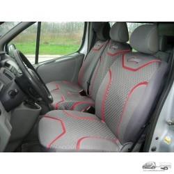 Kisteherautó üléshuzat, 3 személyes üléshez -Profi, szűrke-