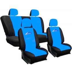 Fekete-kék Univerzális Üléshuzat Autotop felirattal