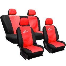 Fekete-piros Univerzális Üléshuzat Autotop