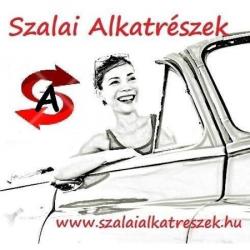 Csajos üléshuzat - Bottari 17021 fehér virágos üléshuzat garnitúra, ülésvédő