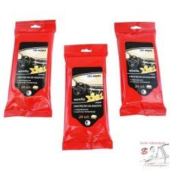 CarCommerce Vaníliás Műszerfalápoló Törlőkendő