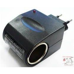 Átalakító 230V-12V szivargyújtó átalakító adapter