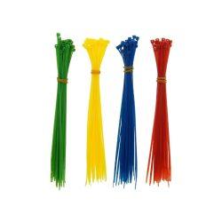 Gyorskötöző / kábelkötegelő 200 X 2.5MM 120db 4 szinben