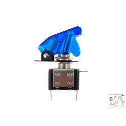 Billenőkapcsoló, kék, 12V, 20A