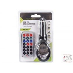 FM transmitter, MP3, LCD, SD/MMC