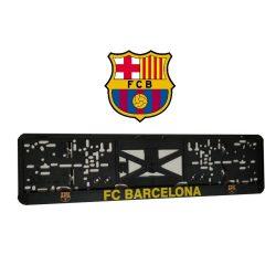 Rendszámtábla tartó FC BARCELONA (2db)