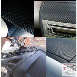 Autó karosszéria fólia Légcsatornás fekete karbon 50*100