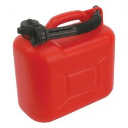 Benzines kanna 5l, üzemanyag kanna, piros
