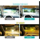 Autós napellenző és fényszűrő, látássegítő autóba (nappali és éjszakai) - Bigyó Store