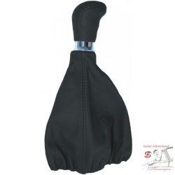 Váltógomb szoknyával, fekete bőr JAC01420