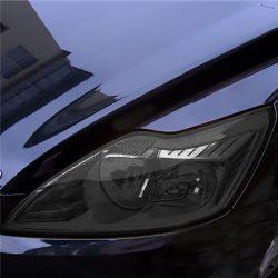 Autó lámpa-fólia fekete - 30*100cm
