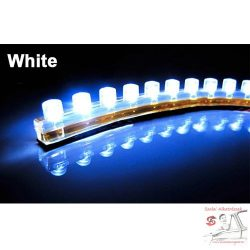 Fehér ledcsík 24cm