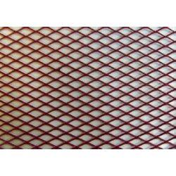 Alu rács Aluminium dísz rács - PIROS - 120*20cm