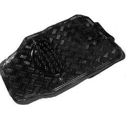 Fém hatású Gumiszőnyeg készlet Fekete - Black Metál