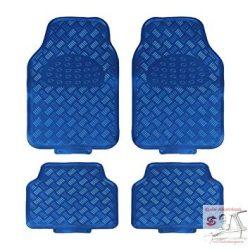 Gumiszőnyeg készlet -fém hatású - Kék - Blue Metál