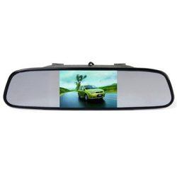 Monitor visszapillantó tükrös - tolatókamerához