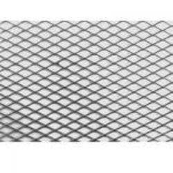 Alu rács Aluminium dísz rács (tuning rács) - 100 x 30cm -Ezüst