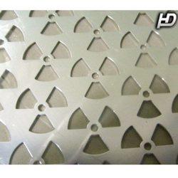 Alu rács Alumínium dísz rács Atom SILVER 100*30cm