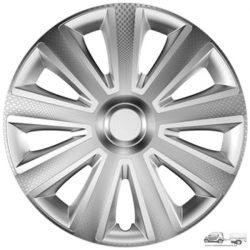 Versaco 15-ös Dísztárcsa garnitúra Aviator Carbon Silver