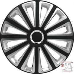 Versaco Trend Ring Chrome Black & Silver 14-es dísztárcsa garnitúra