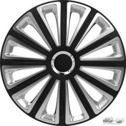 "Versaco Dísztárcsa garnitúra 15"" Trend Ring Chrome Black & Silver"