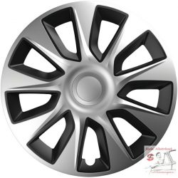 Versaco Stratos Silver & Black 17-es dísztárcsa garnitúra