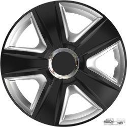 "Versaco  15"" Esprit Ring Chrome Black & Silver 15-ös dísztárcs garnitúra"