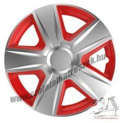Versaco ESPRIT silver red , ezüst-piros 16-os dísztárcsa garnitúra