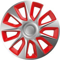 Versaco Stratos Silver & Red 13-as dísztárcsa garnitúra