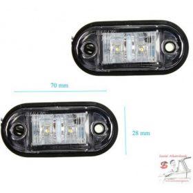 Kiegészítő lámpa /Helyzetjelzők - Szélességjelző (12-24V)