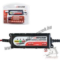 4CARS Akkumulátor töltő, intelligens 6-12V, 1A, 5 STEP-95507 - 00085027
