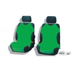 Zöld trikó üléshuzat szett - Pamut