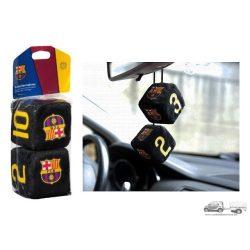 Fc Barcelona dobókocka tükördísz