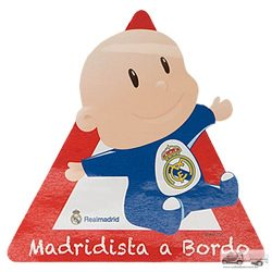 Real Madrid - Baby on Board matrica