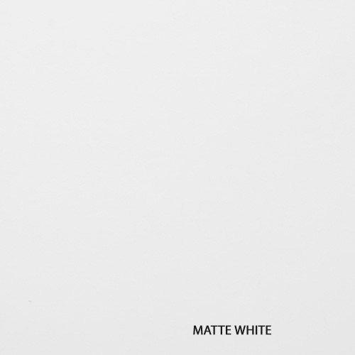 Autó karosszéria fólia Matt fehér, légcsatornás 1,5m